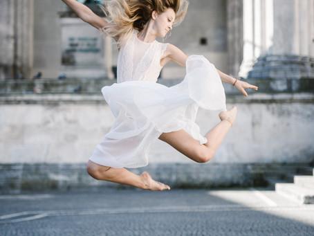 Poem: Ich fliege wenn ich tanze