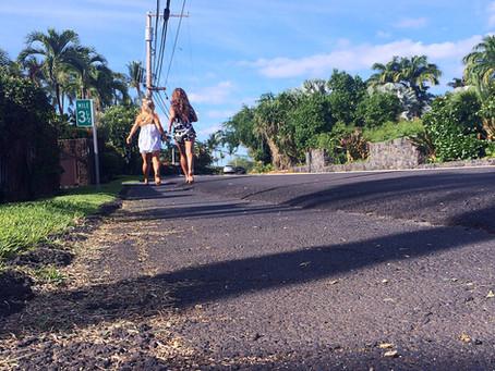 Well.. that wasn't planed - Hawaii big island