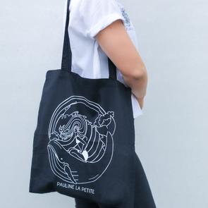 Bag Whale Black Long Strap
