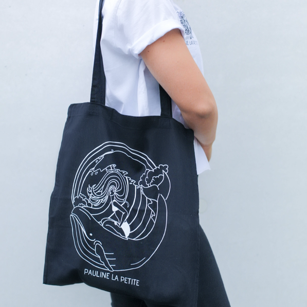 Bag Whale Black Long Strap