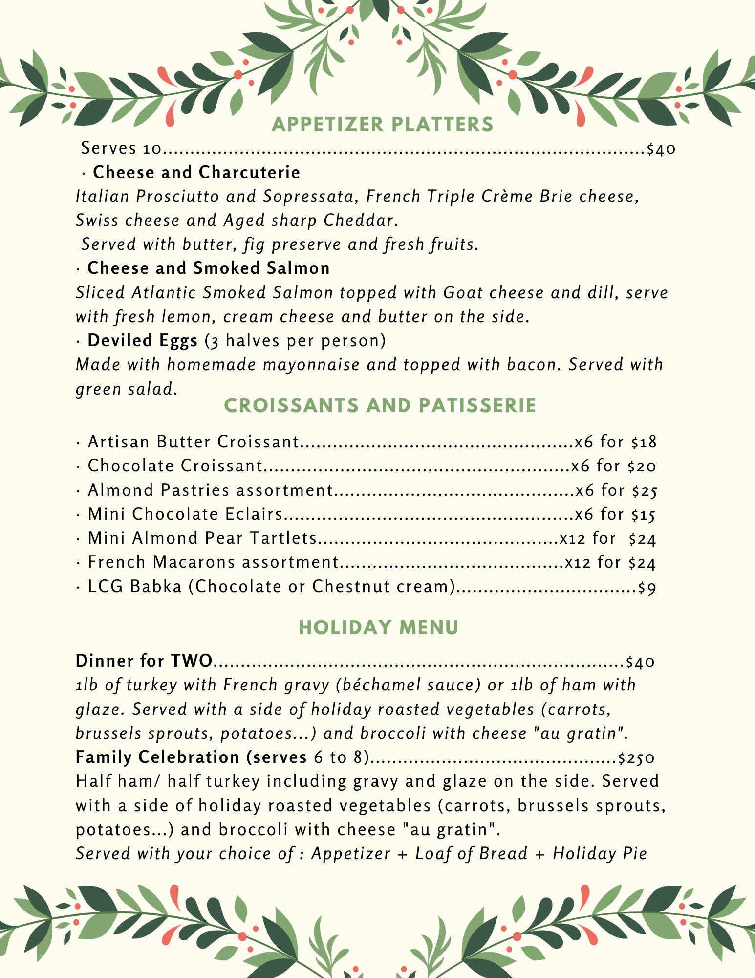 Le Café Gourmet Holiday  Menu (5).png