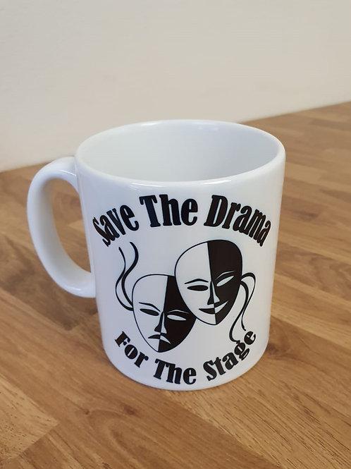 Save The Drama (White)