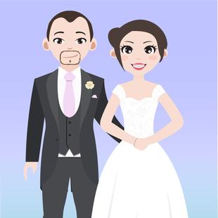 Couple & Guest Caricatures