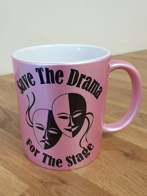 Save The Drama (Glitzy Pink)