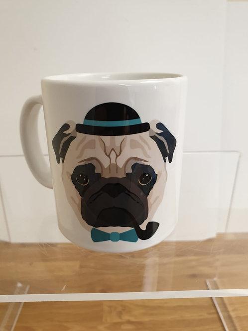Personalised World's Best Pug Mum