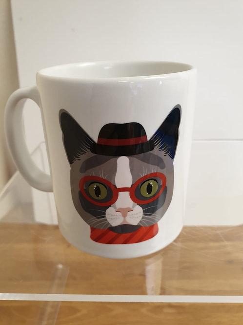 Personalised World's Best Cat Mum Mug