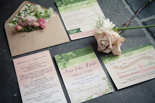 Wedding Stationery Package