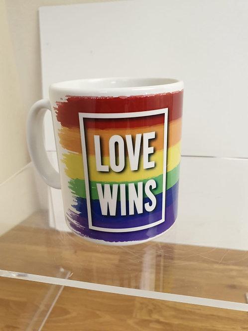 LGBTQ Love Wins Rainbow