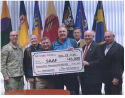 Donation to SAAF