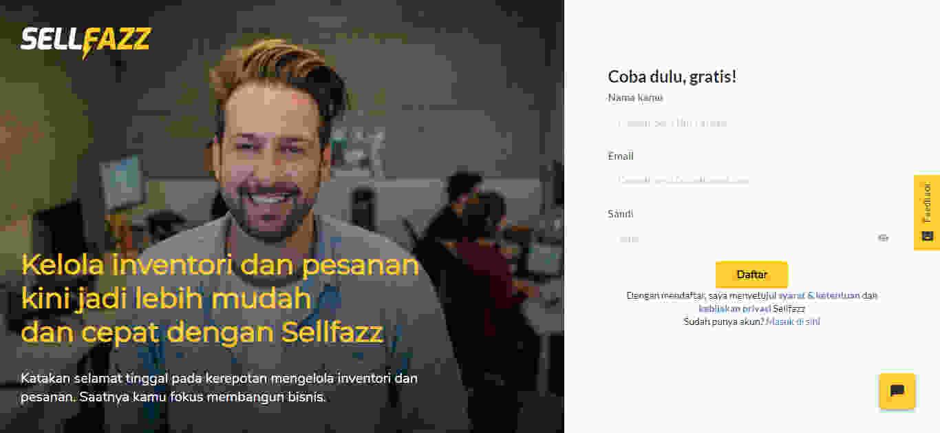 Aplikasi Stok Barang Sellfazz