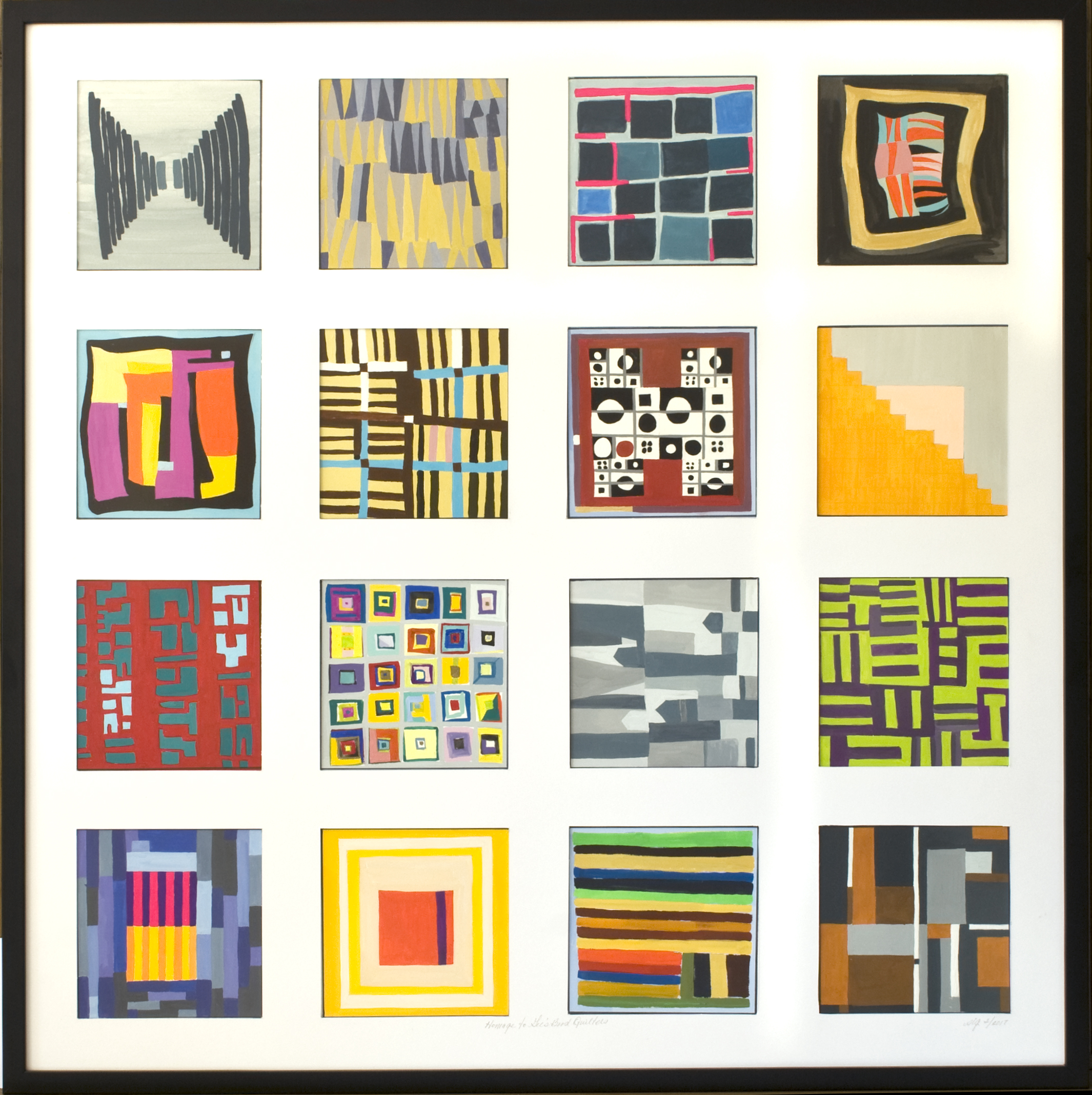 Homage to Gee's Bend Quilters
