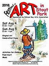 Festival of Art in Stout Park sponsored by PBAA