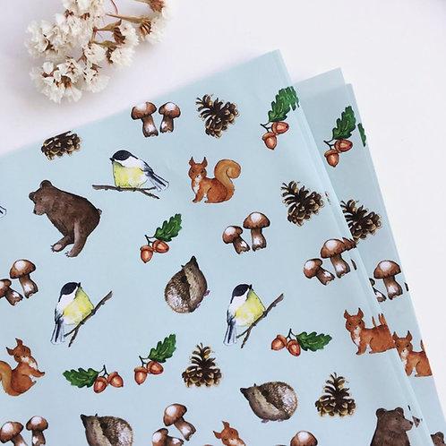 Balicí papír - různé vzory