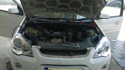 Ford Fiesta AC evaporator replacing (23)