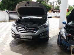 Hyundai Santafe service center in ernakulam (2)