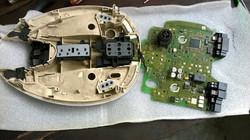 Benz E280 Cabin top control panel repairing (2)