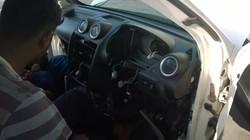 Ford Fiesta AC evaporator replacing (44)