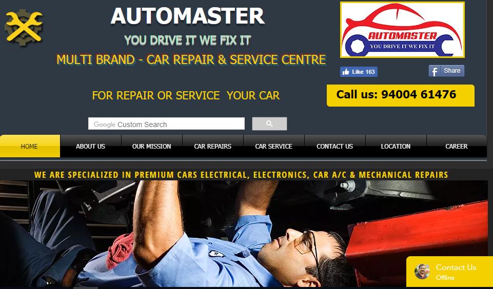 Automaster car service centre | Ernakulam | Auto Electrical