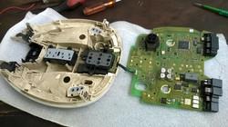 Benz E280 Cabin top control panel repairing (6)