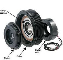 Car A/C Compressor clutch repairing or replacing workshop in Manjummel, Ernakulam, Edapplly,