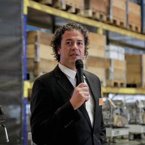 O speaker Pedro Anjos