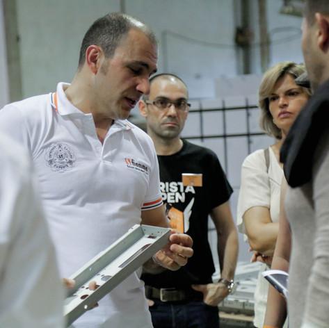 Pedro Serra da fiamma explica a tecnologia das máquinas de café espresso
