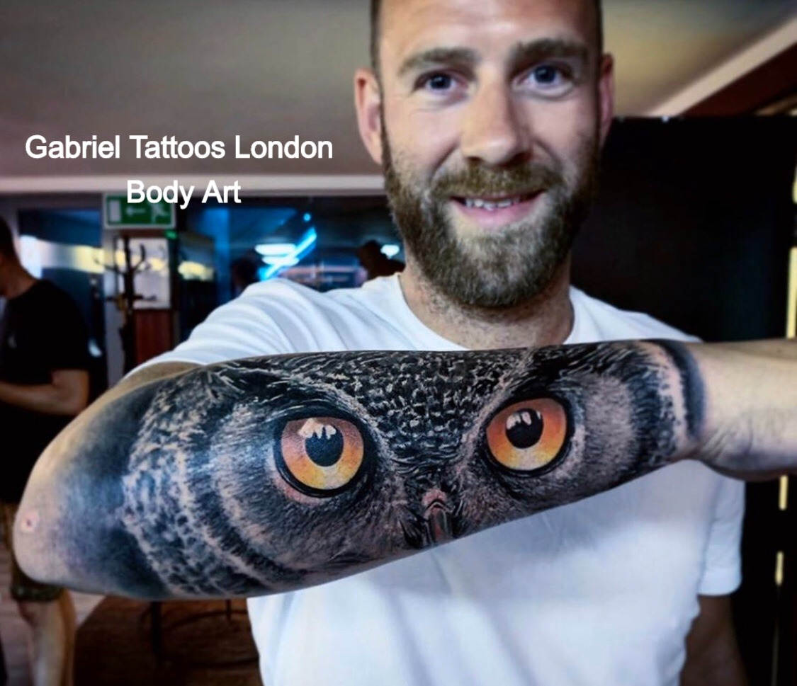 Gabriel Tattoos London Body Art