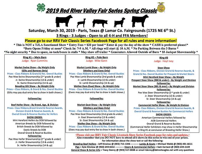 2019 RRV Fair Spring Classic - 3.30.19 j