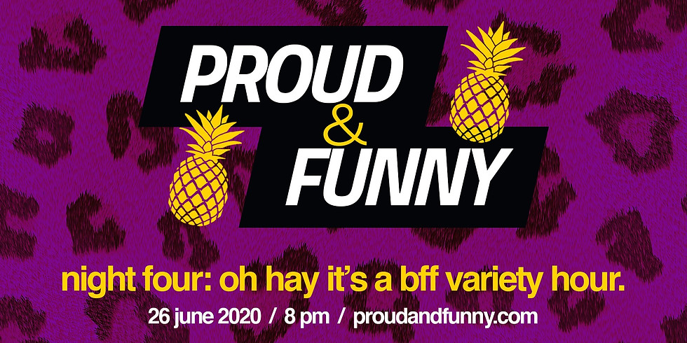 Proud & Funny: BFF Hour