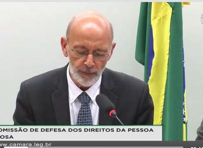 COMISSÃO DE DEFESA DOS DIREITOS DA PESSOA IDOSA Audiência Pública Extraordinária -com Dr Kalache 28/
