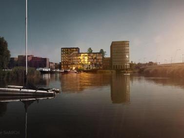 SeARCH projeta edifício residencial para idosos com estrutura de madeira em Amsterdã