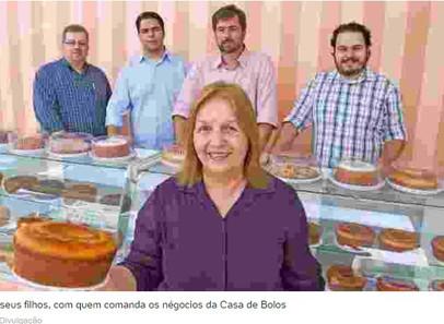 Vó Sônia fatura R$ 210 milhões vendendo bolos simples e fresquinhos