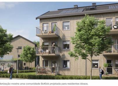 Ikea e a rainha da Suécia estão projetando casas para pessoas com demência.