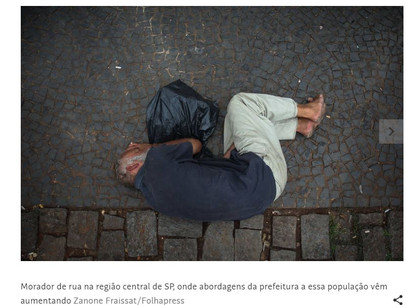 Cidade de São Paulo tem 7.002 pessoas com 50 anos ou mais vivendo em situação de rua e vulneráveis a