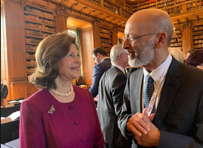 Alexandre Kalache no III Dementia Forum organizado pela Fundação criada pela Rainha Silvia da Suécia