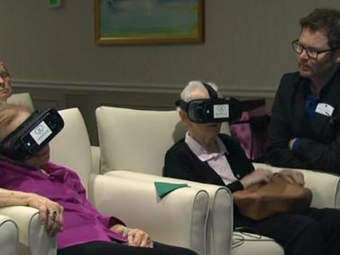 Como Será? Realidade virtual leva idosos a locais nunca antes explorados por eles.