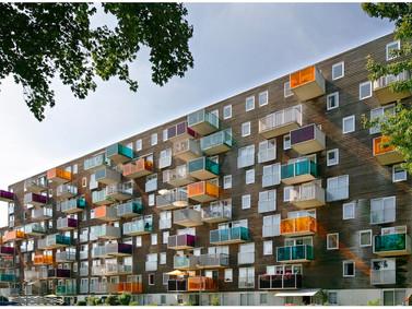 Wozoco,Osdorp, Amsterdam, Holanda,residencial, entre os 10 melhores no mundo do ponto de vista arqui