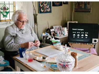 A KOMP ganhou Prêmio na Smart Aging 2018,computador de comunicação entre idosos e suas famílias.