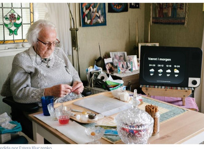 A KOMP ganhou recentemente o Prêmio Nesta Smart Aging 2018, com um computador de um botão que ajuda