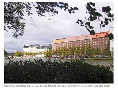 Finlândia recorre à tecnologia para cuidar de seus idosos