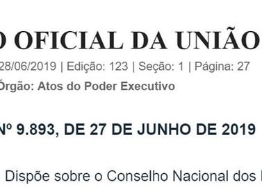 Decreto Nº 9.893, 27 de junho de 2019