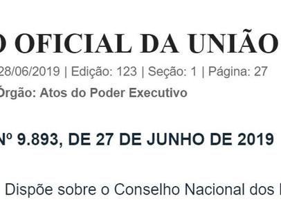 DECRETO Nº 9.893, DE 27 DE JUNHO DE 2019