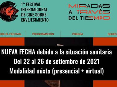 1° FESTIVAL INTERNACIONAL DE CINE SOBRE ENVEJECIMIENTO
