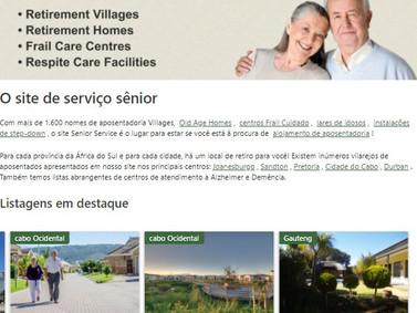 Retirement Village - vilas para aposentados, lares para idosos para idosos na África do Sul