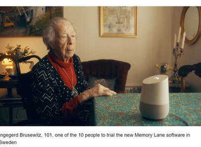 Memory Lane: a ferramenta de inteligência artificial que pergunta às pessoas mais velhas suas histór