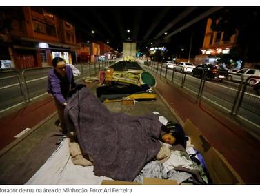 Em quatro anos, população de rua cresce 60% e chega a 24 mil em SP