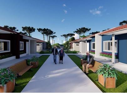 Programa Viver Mais, Paraná , vai atender pessoas da terceira que não tenham casa própria.