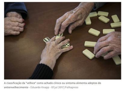 Queremos morrer velhos, mas não 'de velhice' #velhicenãoédoença