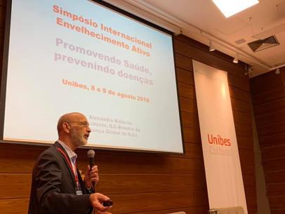 Simpósio Internacional Envelhecimento Ativo.Promovendo saúde evitando doenças- América Latina.