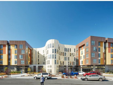 Residencial Geriátrico Dr. George W. Davis / David Baker Architects, San Francisco, Califórnia, EUA